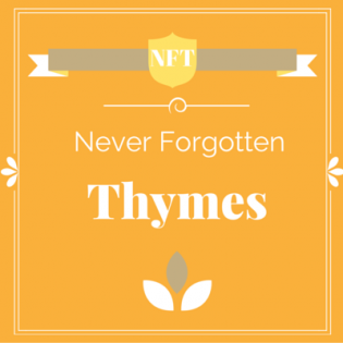 Never Forgotten Thymes